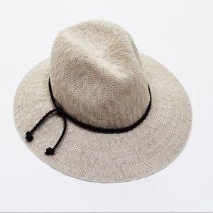 NWT Treasure & Bond Ivory Summer Fedora Hat